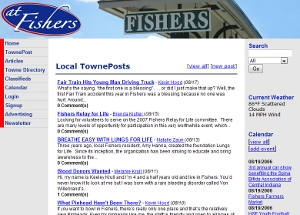 Fishers Indiana Community Website